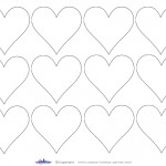 Printable Heart Cut Out 6